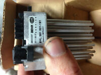BMW blower motor resistor (automatic climate control)
