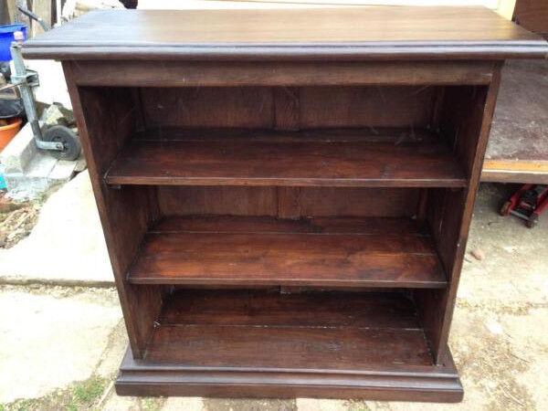 Solid Oak Antique Book Case