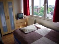 SURREY QUAYS - DOUBLE ROOM FOR SINGLE USE - AVAILABLE RIGHT NOW