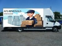 Short Notice Removal Service House Move Man & Van Hire Company Office Clearance Cheap Collection