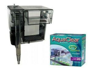 AQUARIUM FILTER - AQUACLEAR 20 50 70 & 110 POWER FILTER