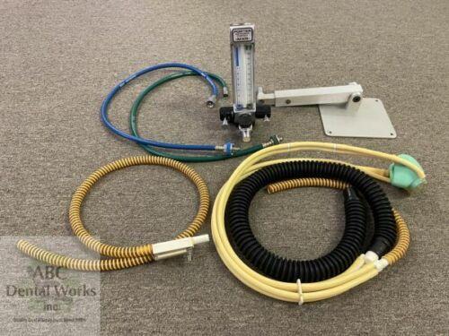 Porter MXR 2000 Wall/Cabinet Mt. Flowmeter w Rubber Goods & Telescoping Mount