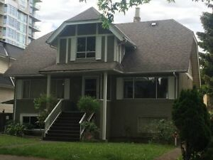 3 Br House For Rent in Vancouver West Near VGH