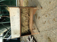 heavy duty home made metal goat/ sheep feeder