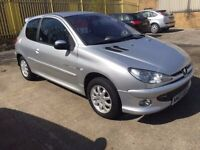Peugeot 206 1.4 Quicksilver in 2003 model. In excellent condition for its year.