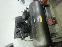 10 HP 2 stage air compressor * LOW HOURS*