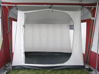 Universal 3 Berth Caravan Awning Inner Tent - Brand new boxed, picture off internet