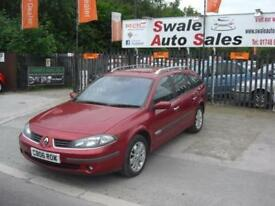 2006 RENAULT LAGUNA 2.0 16V DYNAMIQUE AUTOMATIC ESTATE CAR VERY CLEAN AND TIDY