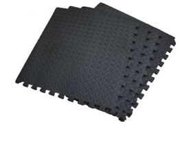 Floor Mats Pack of 4 Interlocking Gym Mat 16SqFt or 1.48 Sq Mts