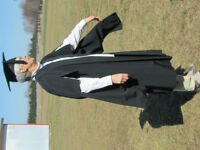 academic gown and cap - Masters