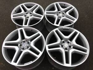 "Genuine 21"" AMG Mercedes GL series rims in excellent condition"