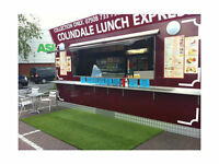kiosk catering unit burger bar ( burger bar ,kebab van) REDUCED PRICE