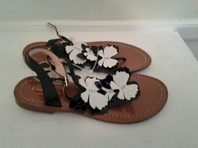 NEW Kate Spade New York  Ankle Strap Ladies Sandals T-Strap -Butterflies -SIZE 7