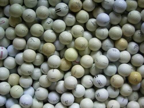 Golfbälle/Lakeballs für Cross-Golf/zum Verheizen ° gebrauchte Bälle ° X-Golf