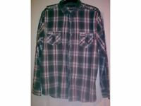 Men's urban spirit long sleeved shirt size medium £8.00