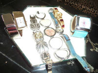 ladies quartz watches for sale 3.00 each.. all work..