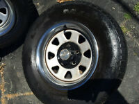 15 inch rally rims and tires  s-10 s-15 astro  safari