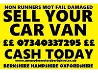 WANTED CARS VANS 4X4 MPV PICKUPS CARAVANS CAMPERS MOTORBIKES NO MOT NON RUNNER NO KEYS NO LOG BOOK