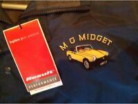 "MG Midget Fleece Jacket – Size ""L"" – Brand New – Ideal ""Classic Enthusiast 2016"" Gift !!!."