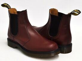 Dr marten cherry red boots uk 6