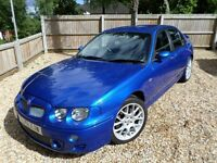 MG ZT 190+ 2.5 V6 2001 Petrol Manual Trophy Blue Saloon with Harmon Kardon Speakers Sub & Amp