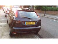 Ford Focus 1.6 Zetec 5 door hatchback Petrol