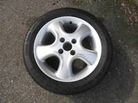 "15"" 4 Stud Ronal Alloy Wheel and 185/55R15 Tyre"