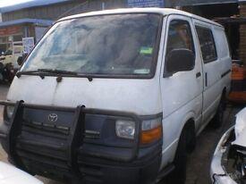 wanted diesel toyota Hilux pickups, Hiace power vans