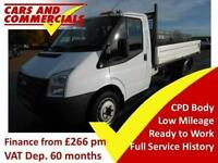 2014 14 FORD TRANSIT 350 MWB 1-WAY 1-STOP 100PS DIESEL