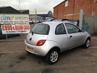 FORD KA [2004] 1.3 CD PLAYER 12 MONTHS MOT 3 MONTHS WARRANTY [CFM AUTOS OVER 35 CARS IN STOCK0