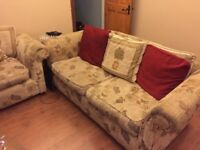 2 seater sofa and armchair FREE
