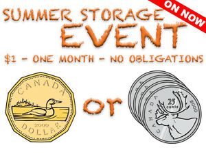 U•STORE•IT Summer Storage Event! $1 for 1 Month, No Obligations!
