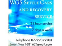 Private Hire settle cars & recovery services ............