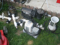 pool pump  hot tub water valves and more
