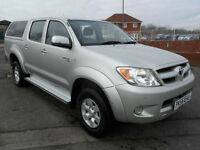 2006 Toyota Hilux HL3 2.5 Double Cab 4WD Pick Up