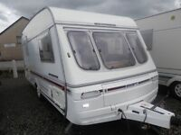>>END OF SEASON PRICE REDUCTIONS!!!<< 1994 SWIFT CHALLENGER 440SE 4-BERTH CARAVAN & AWNING
