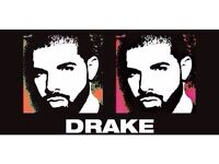 x2 Seated Drake Tickets 15th February o2 Arena (Christmas Present)