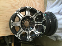 Ion Alloy Wheels - Style 187 Black/Machined