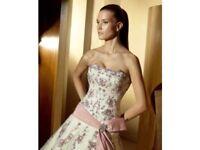 Ivory wedding dress size 10.
