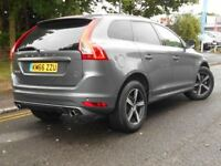 VOLVO XC60 D4 [190] R DESIGN Lux Nav 5dr AWD Geartronic (grey) 2016