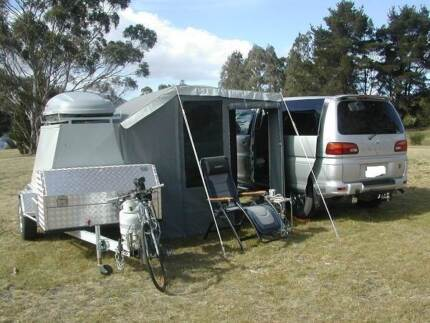 Camper Camping Trailer Sandford Clarence Area Preview