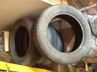 #4 Tires# for sale P215/60/17