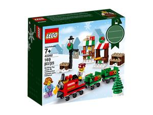 NEUF LEGO 2017 LA PROMENADE EN TRAIN DE NOËL 40262