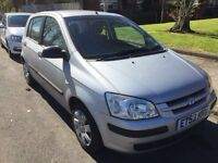2004 Hyundai Getz 1.1L very low mileage