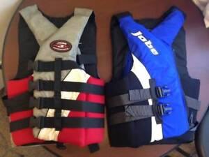2 Brand New Jobe Lifejackets
