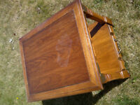 coffee table with a drawer; Shawnessy