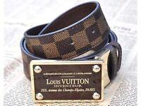 Louis Vuitton lv Inventeur Damier Belt
