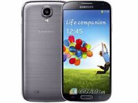 ****SAMSUNG GALAXY S4 IN BLACK AND WHITE UNLOCKED TO ALL NETWORKS****