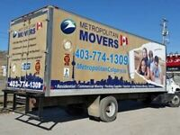 Special November 15 to 25  Deal.  $89 per Hour for two Movers