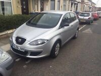 2005 05reg Seat Altea 1.6 Reference Silver Low Miles 60k Bargain